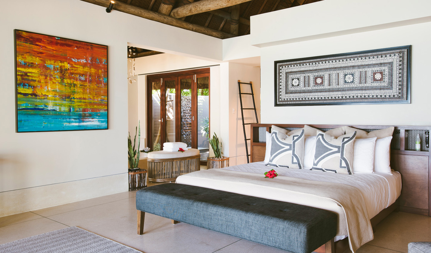 Sophisticated yet understated master suites