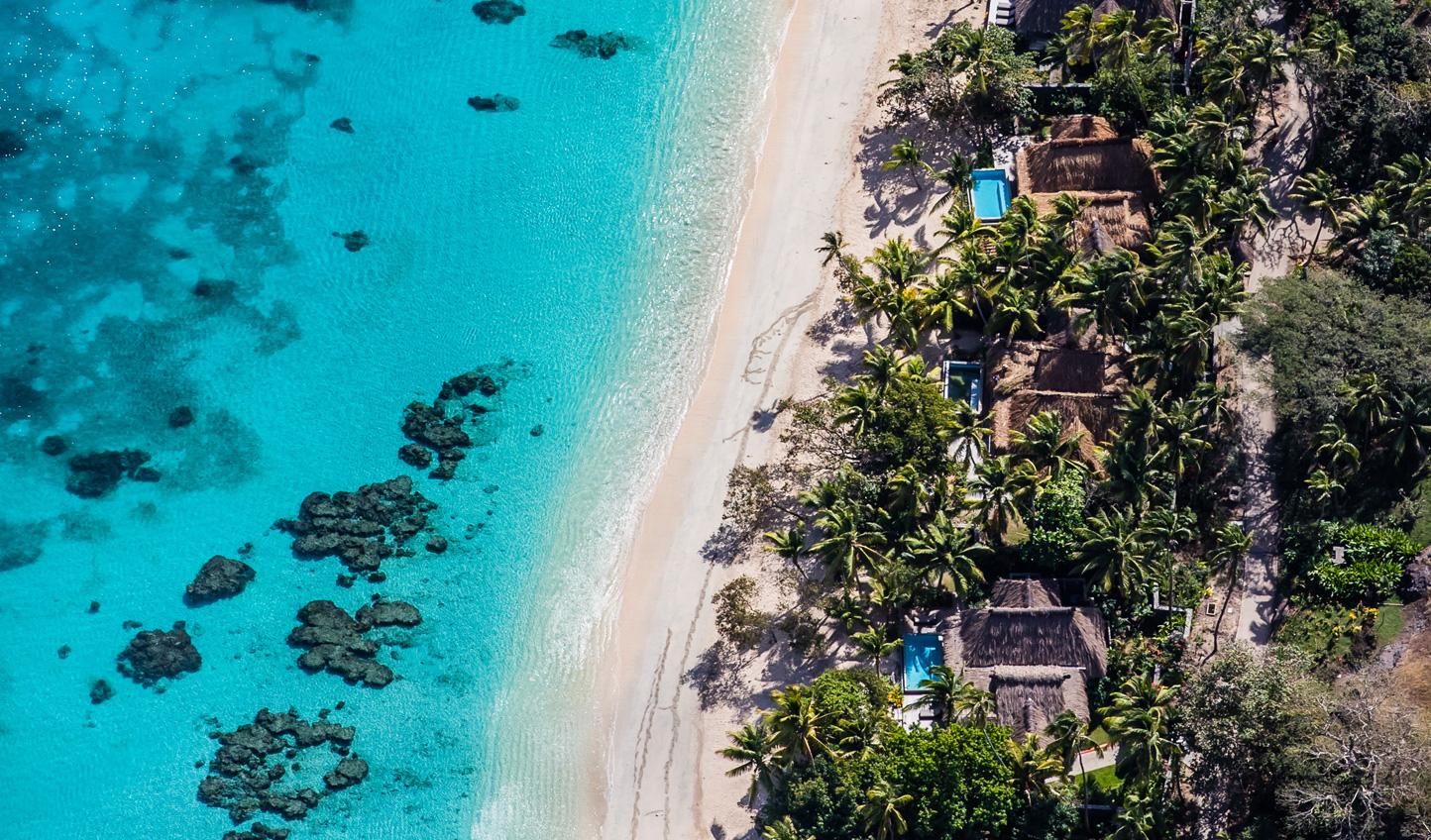 Discover the sugar white sand beaches of Yaukuve Island