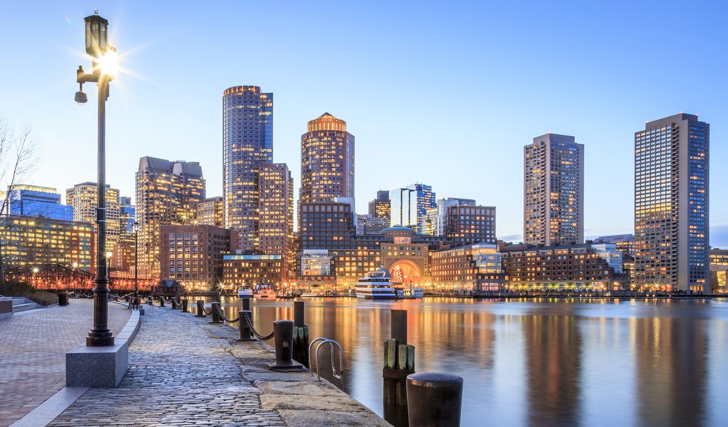 Boston; the gateaway city to New England