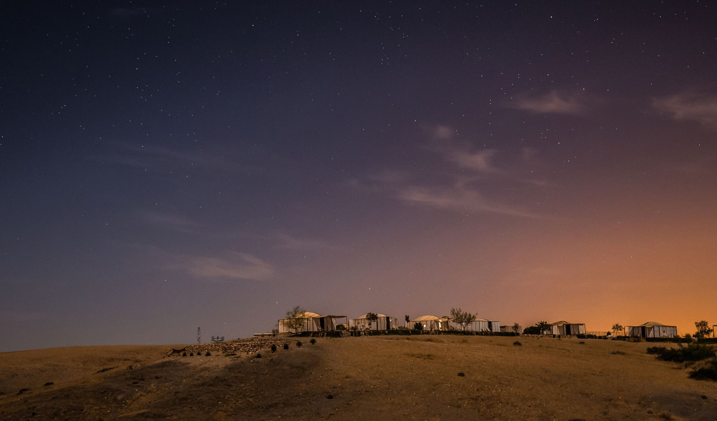 Escape Marrakech's medinas and hideaway in the Agafay Desert with just the stars for company at Terre des Etoiles