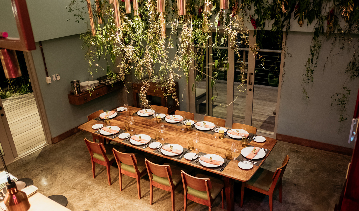 Dine at the Chef's Table for a unique culinary experience