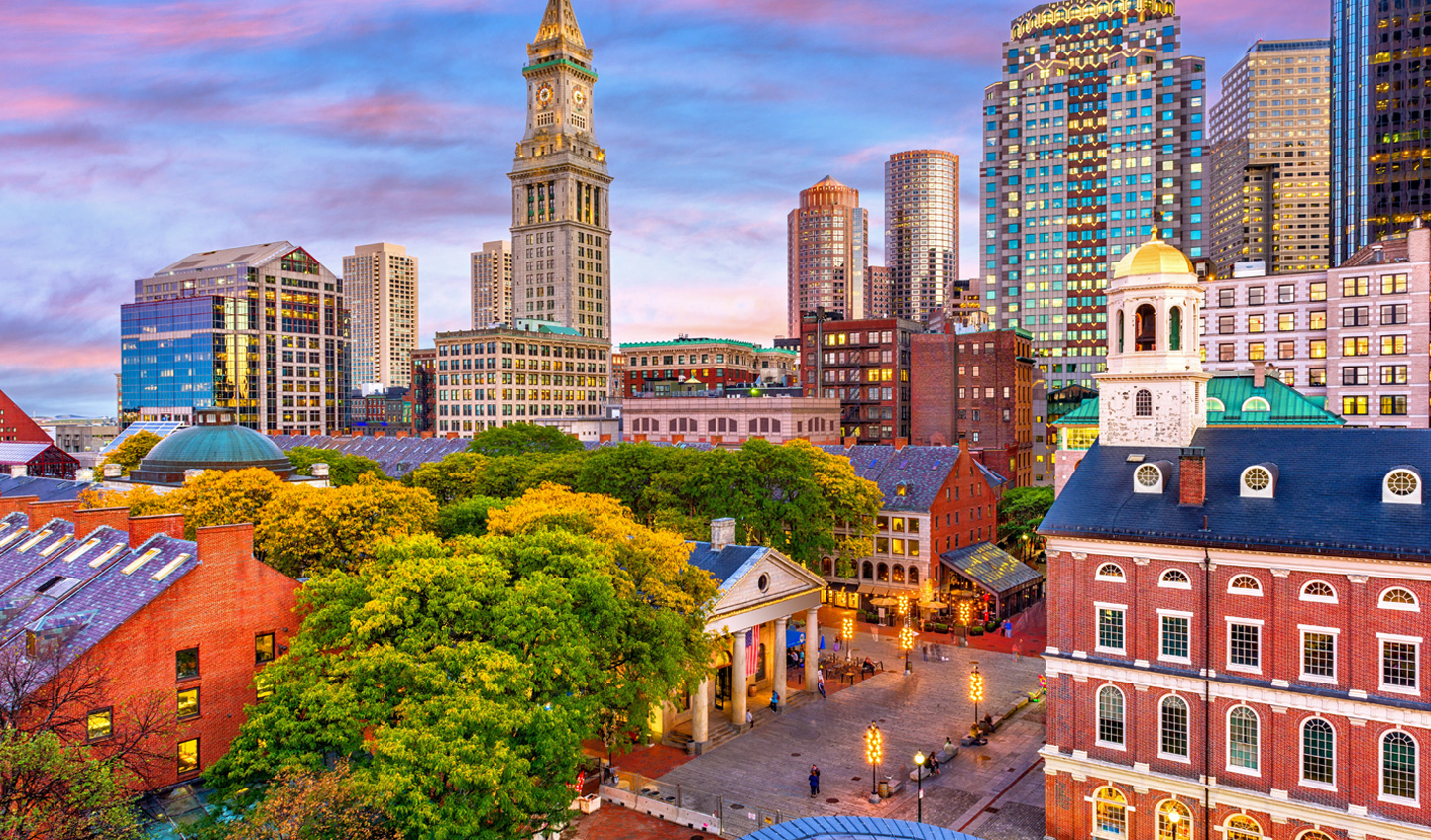 Your first stop will be Boston; one of the most historic cities in all of the US