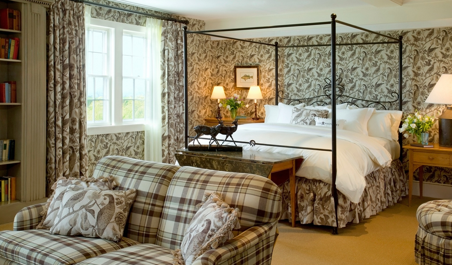 Four-poster beds are just the beginning of your in-suite luxuries at The Wauwinet