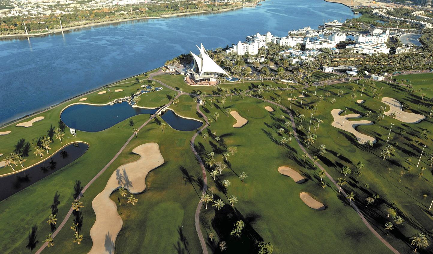 Tee off beneath the sun at Dubai Creek Golf and Yacht Club
