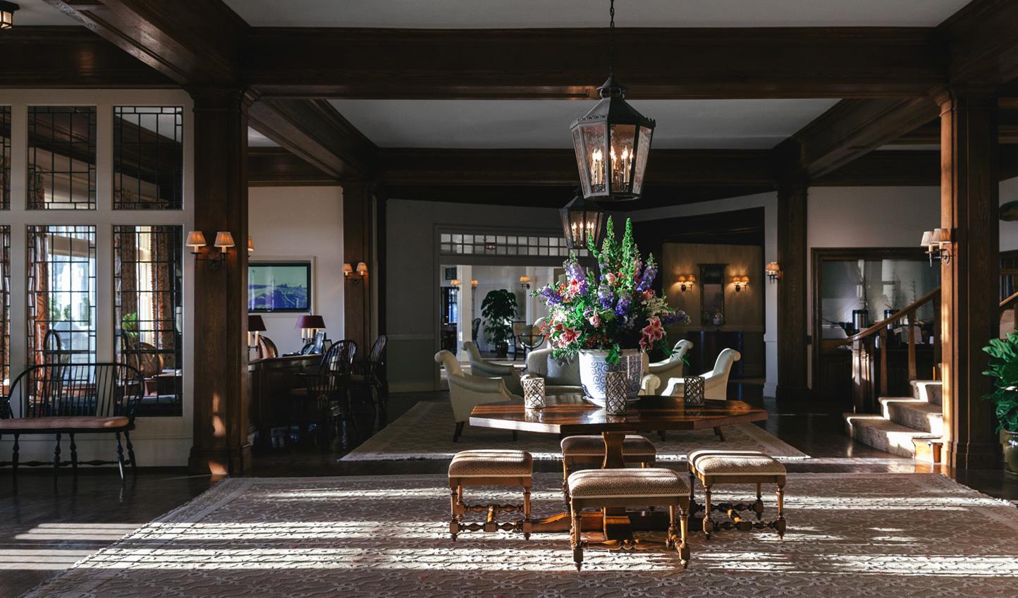The grandeur of the Chatham Bars Inn never falters