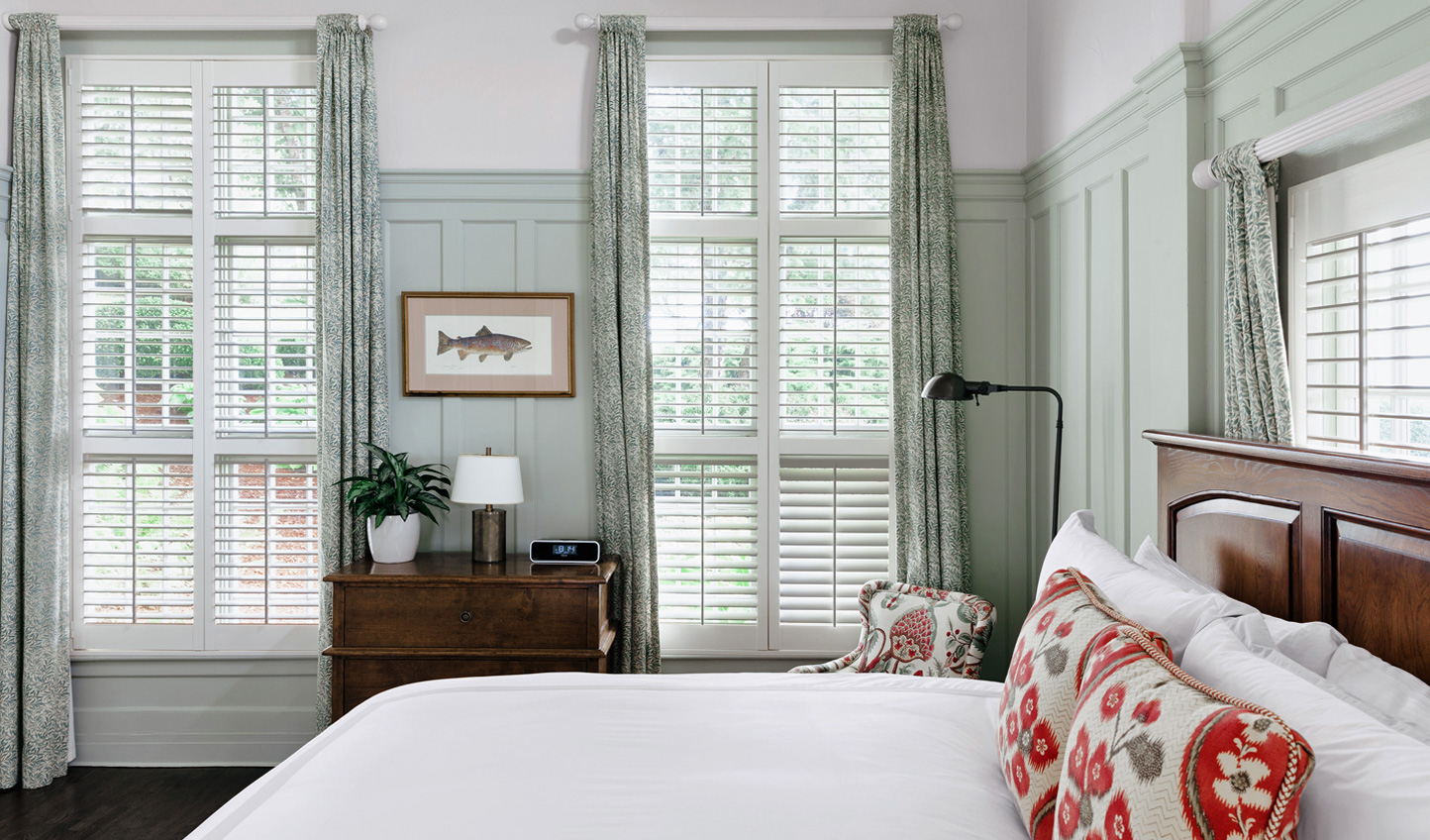 Each room features luxurious interiors