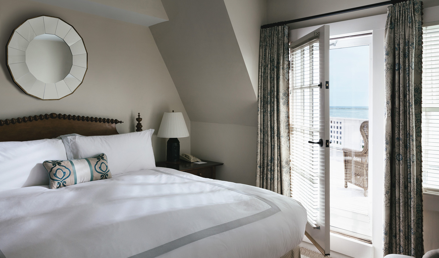 Wake up to the sound of the ocean waves lapping up against the shore