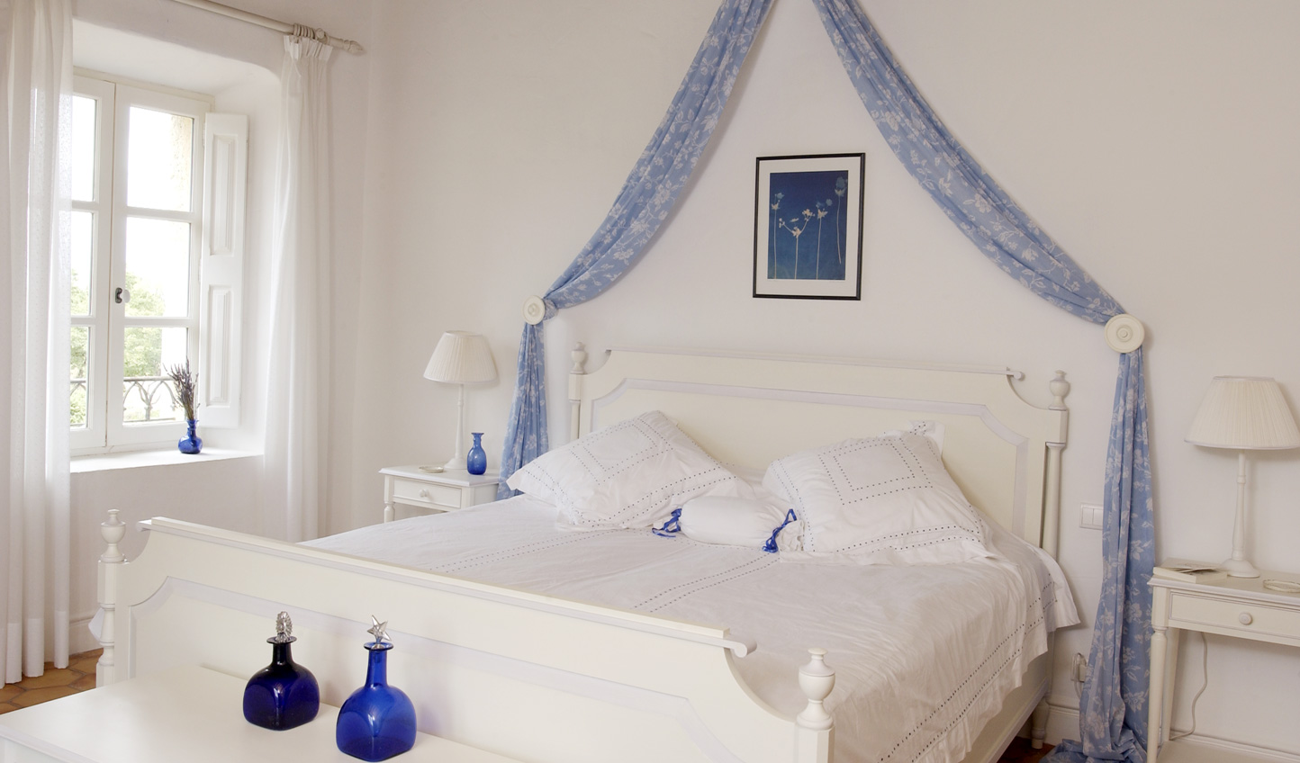 Each of the bedrooms take their inspiration from the surrounding countryside