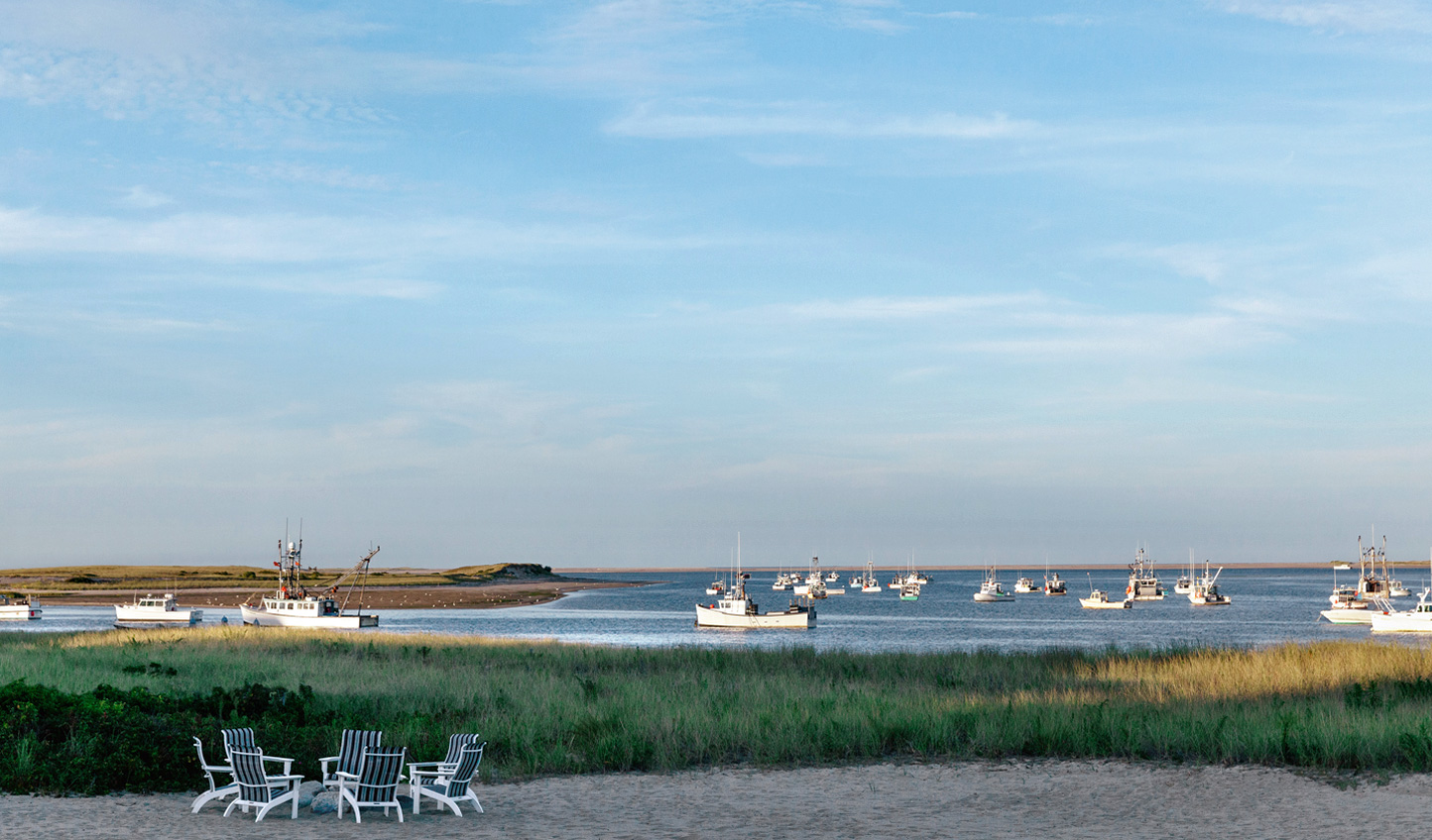 Uninterrupted views of the Atlantic Ocean and the Chatham Harbour