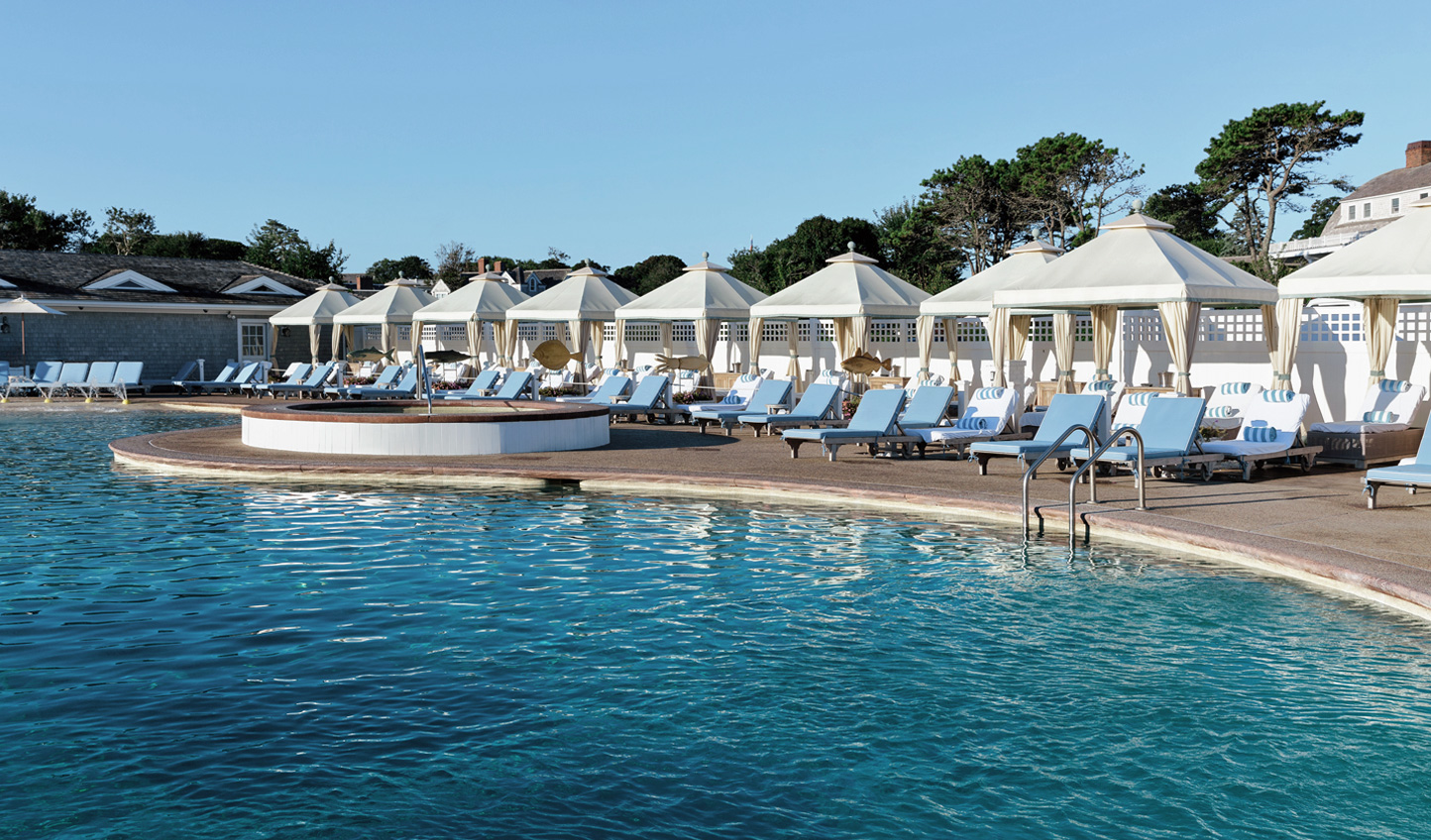 Take a dip in the oceanfront pool