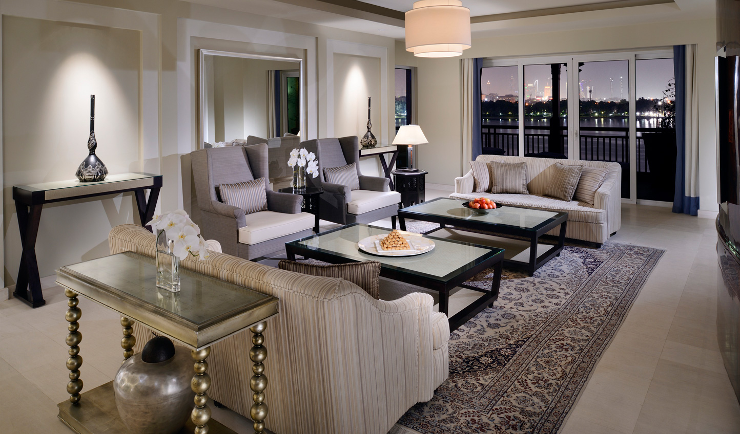 Get a taste for Dubai's high life with a stay in the Royal Suite