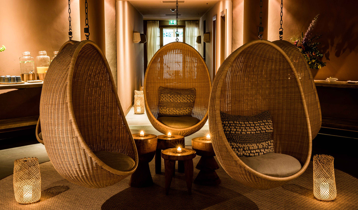 After a day on the slopes, head to Le Grand Spa for a touch of relaxation