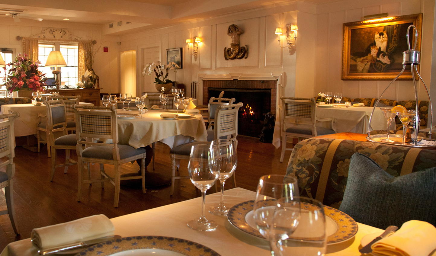 The hotel's restaurant, TOPPER's, is one of the nation's most acclaimed restaurants