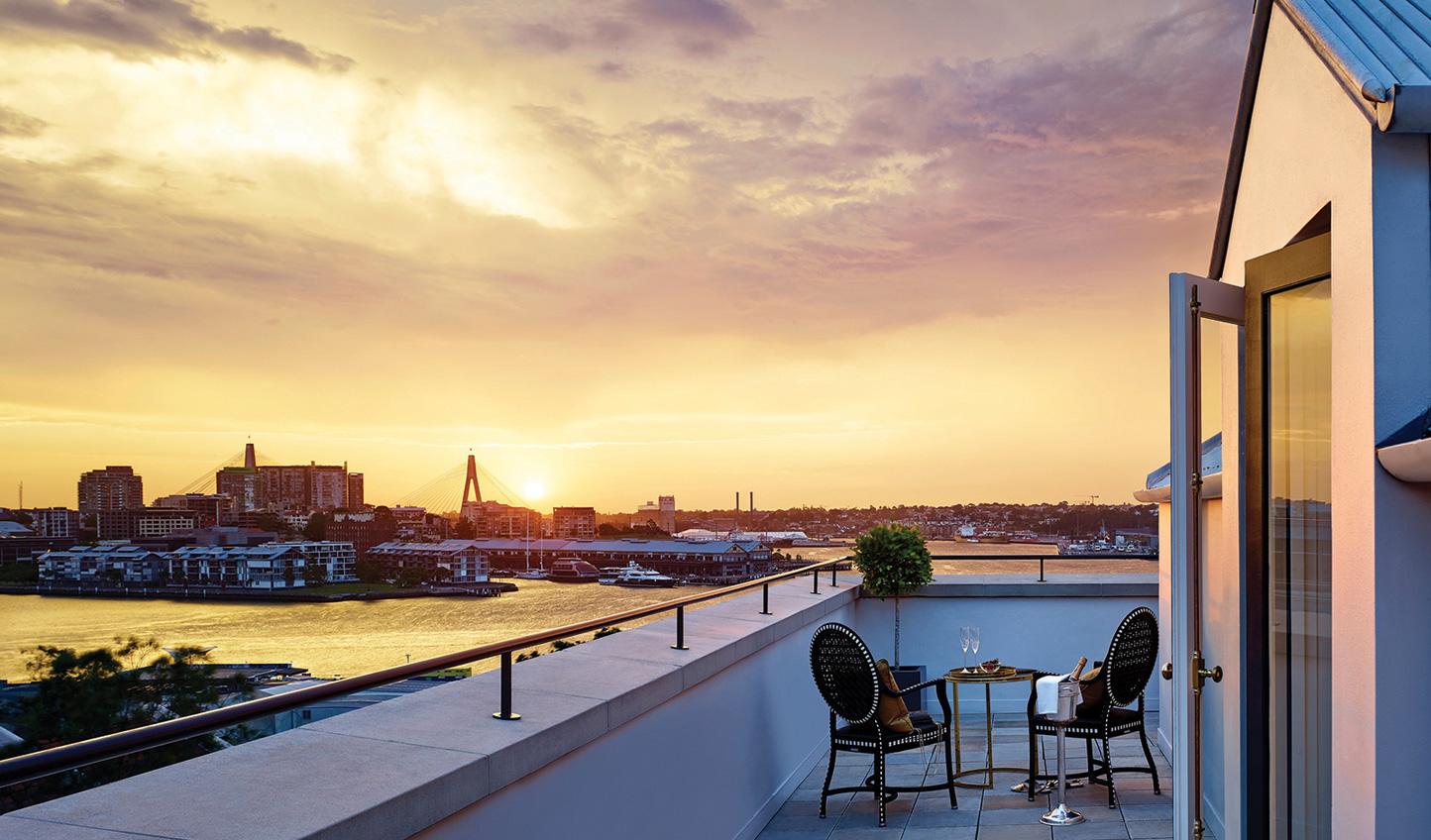 Trust us when we say you'll have no regrets in opting for a room with a terrace