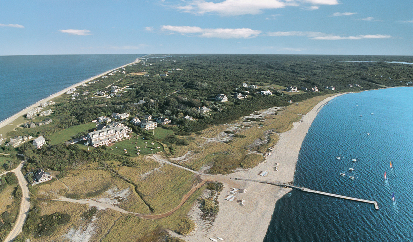The Wauwinet is tucked away on Nantucket Island