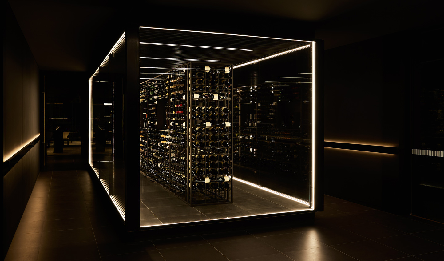 Head down into a wine cellar that you'll never want to leave