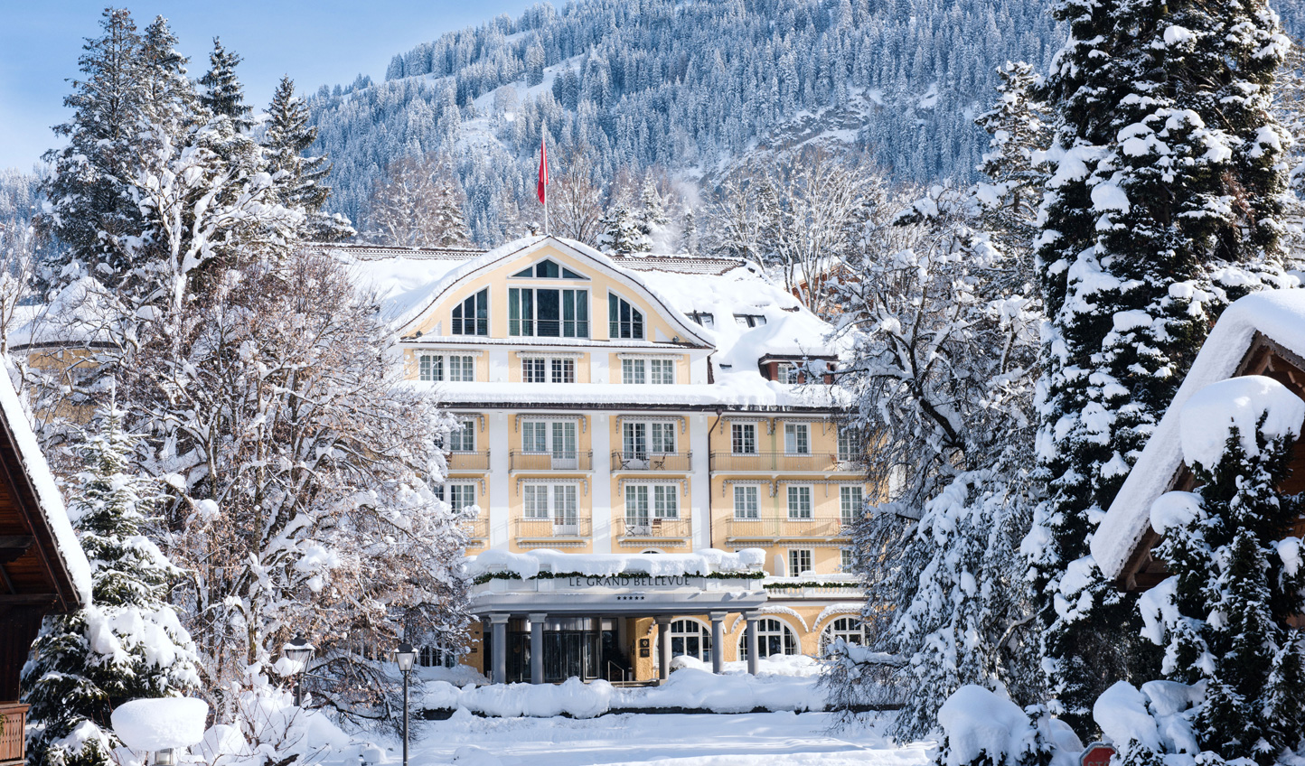 Escape to a winter wonderland amid the Swiss alpine charm of Le Grand Bellevue, Gstaad