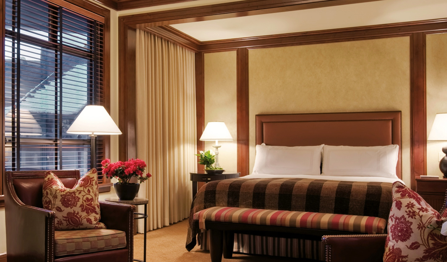 Unwind at Four Seasons Whistler and enjoy the mountain ambience