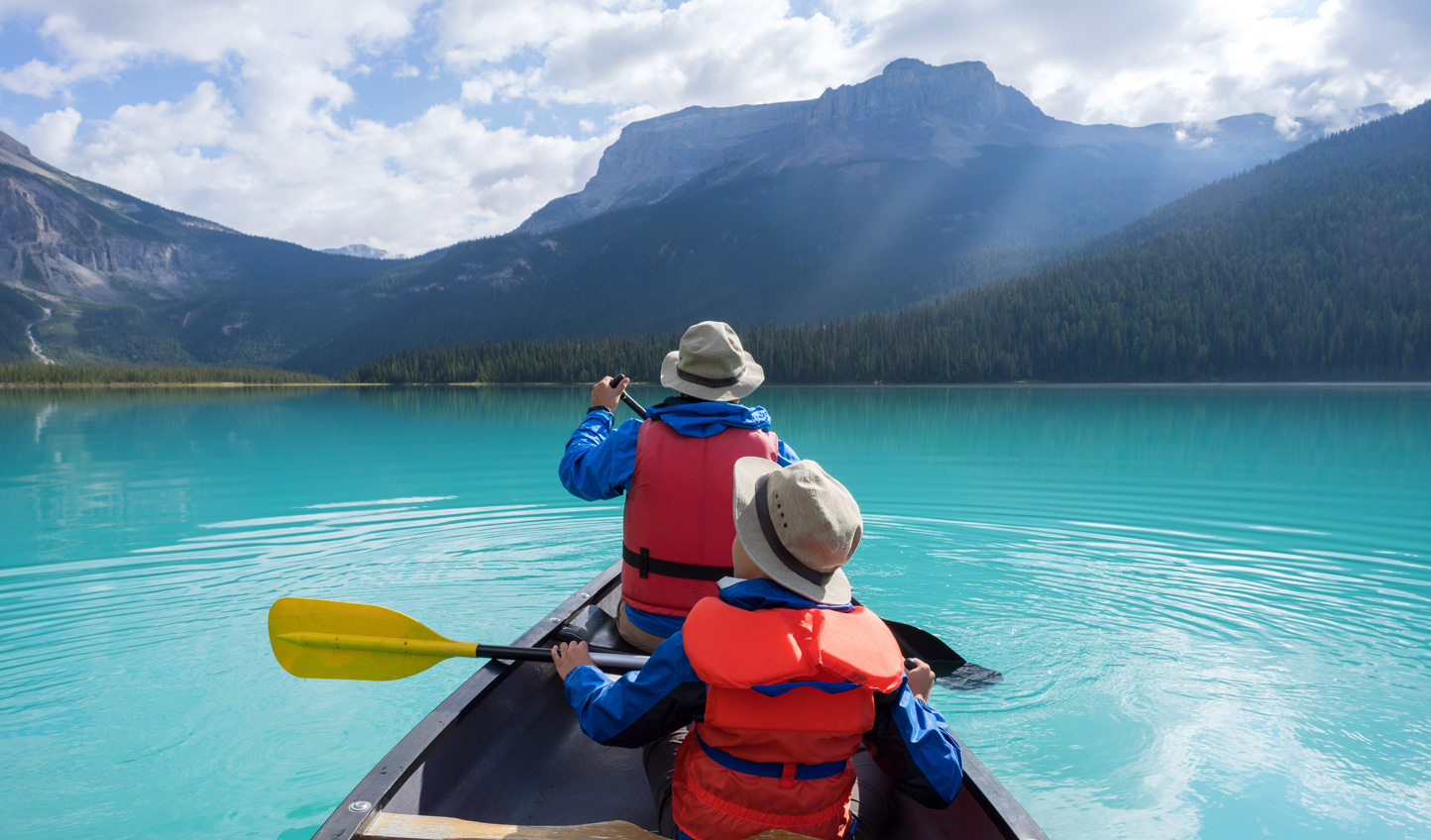 Paddle across pristine waters
