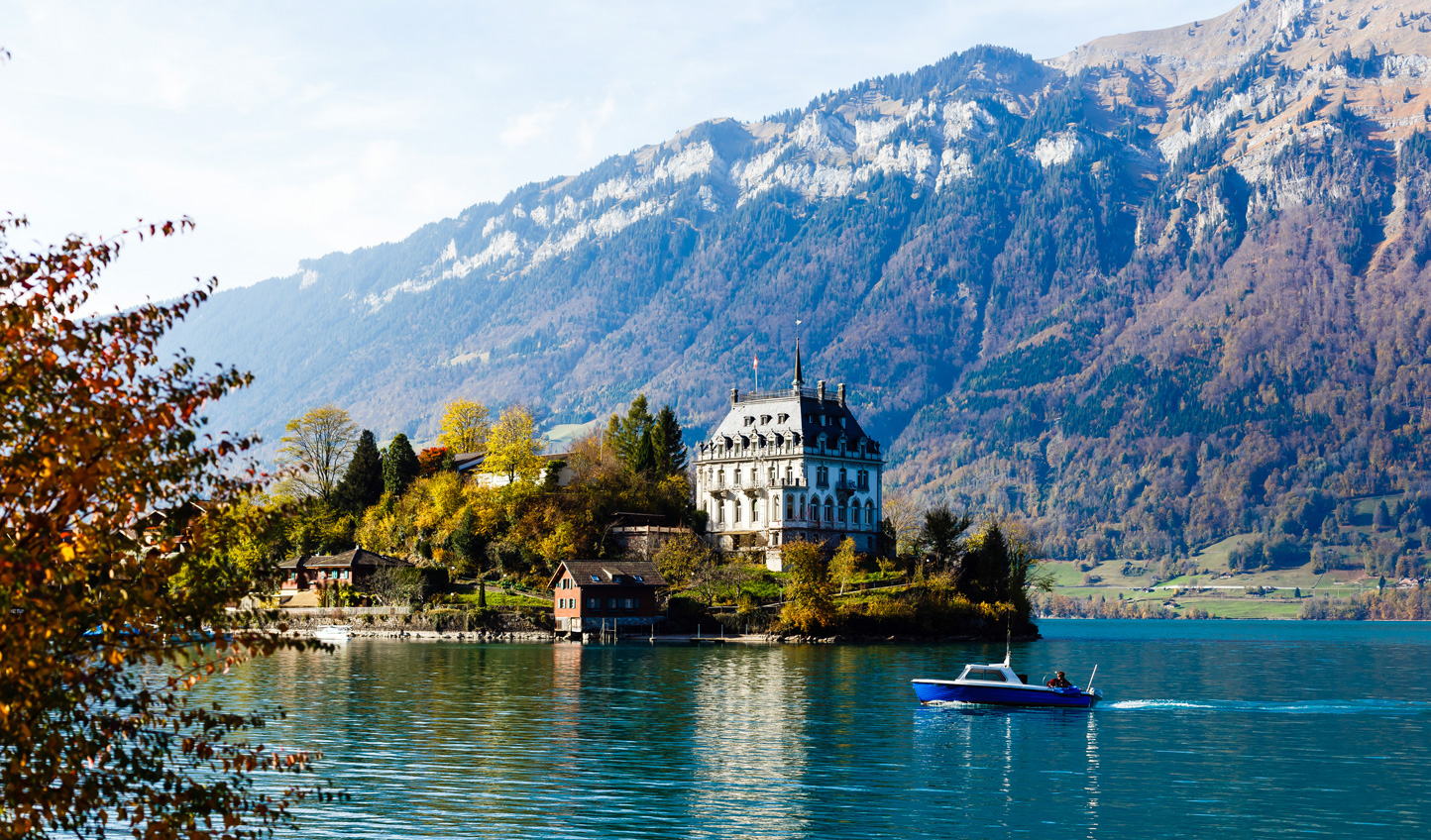 Surrounded by beautiful lakes on either side, spend a couple of days in Interlaken