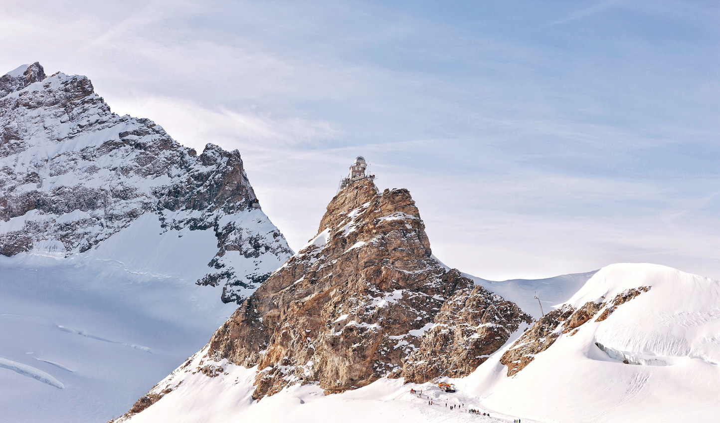 Reaching Jungfraujoch will leave you feeling on top of the world