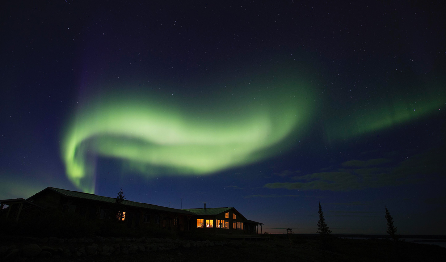 Slumber beneath the flicker of the Northern Lights at Arctic Haven
