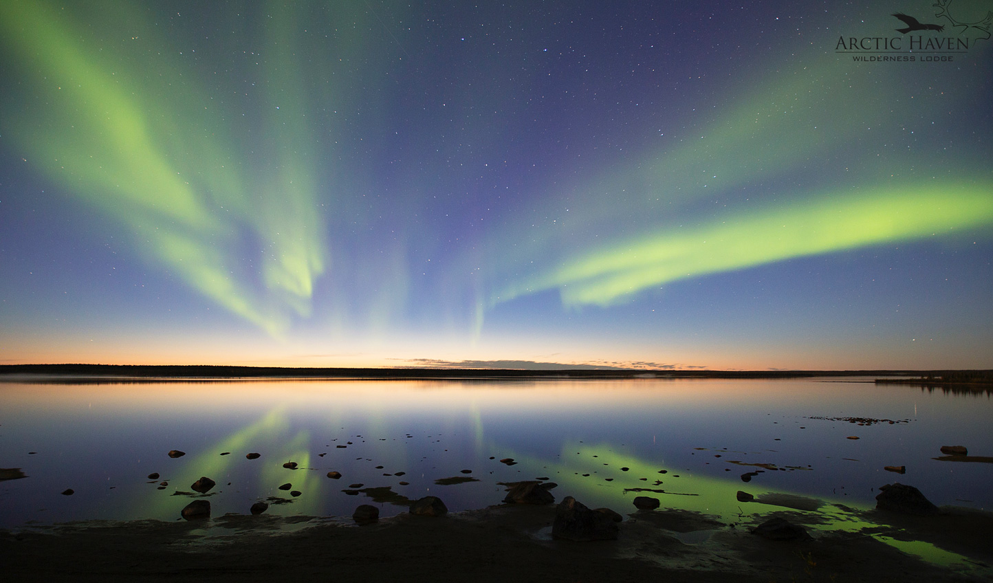 Watch the aurora dance across the sky