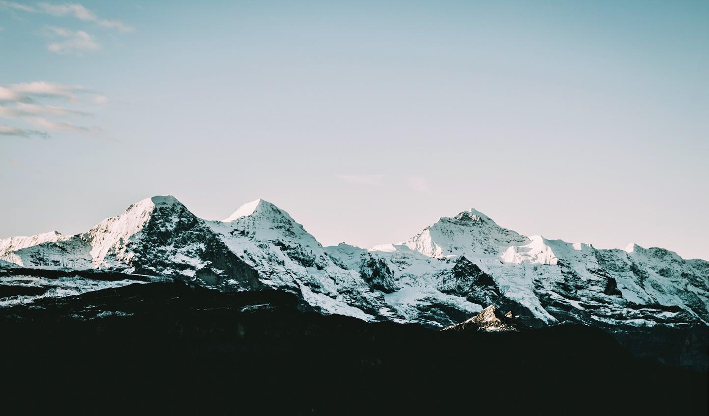 Venture deep into the mountains