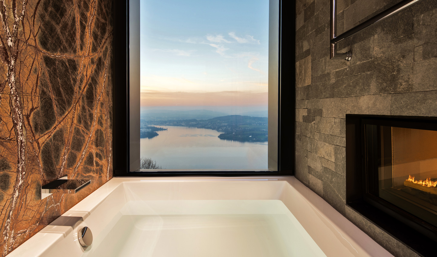 Soak in the views whilst soaking in the tub