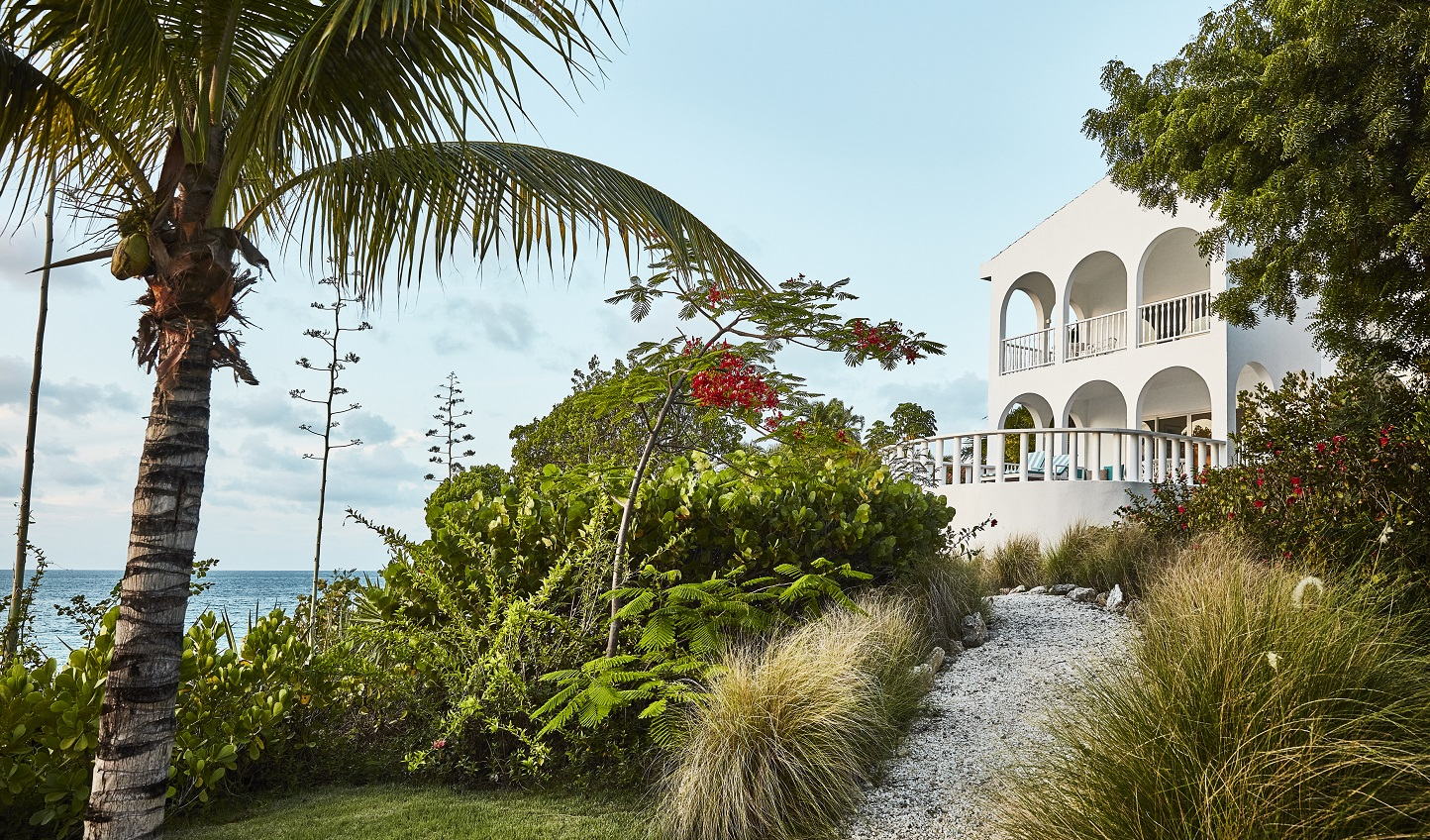 A modern masterpiece clinging to a steep valley ridge overlooking Lake Lucerne