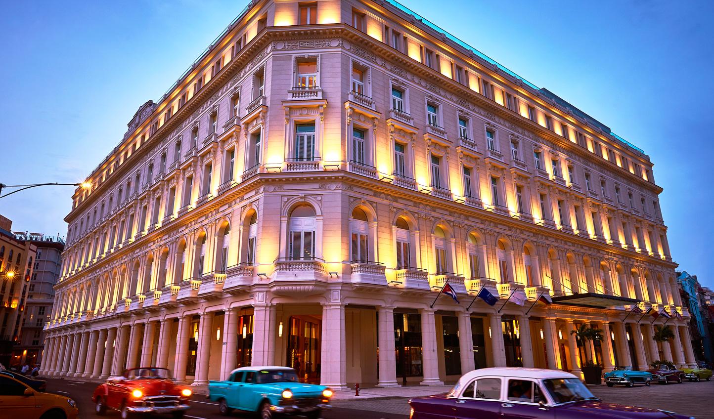 A colonial facade conceals a contemporary flair