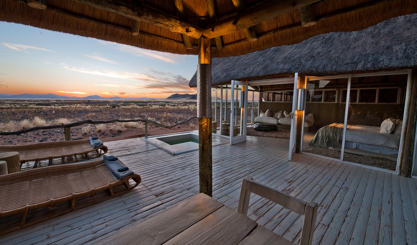Stay at Little Kulala, the gateway to Namibia's Sand Sea