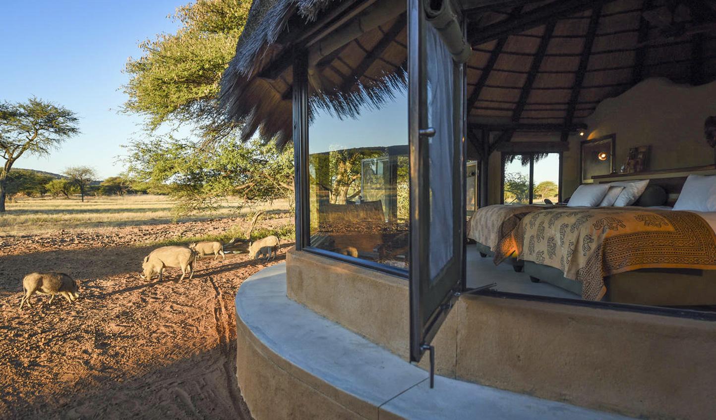 Spend one last night in luxury at Okonjima Luxury Bush Camp