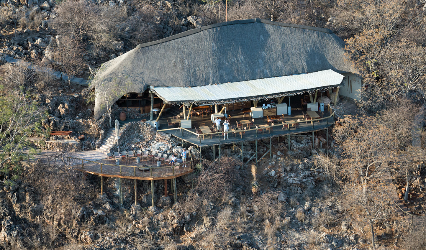 Ongava Lodge is in a secluded spot within a private game reserve