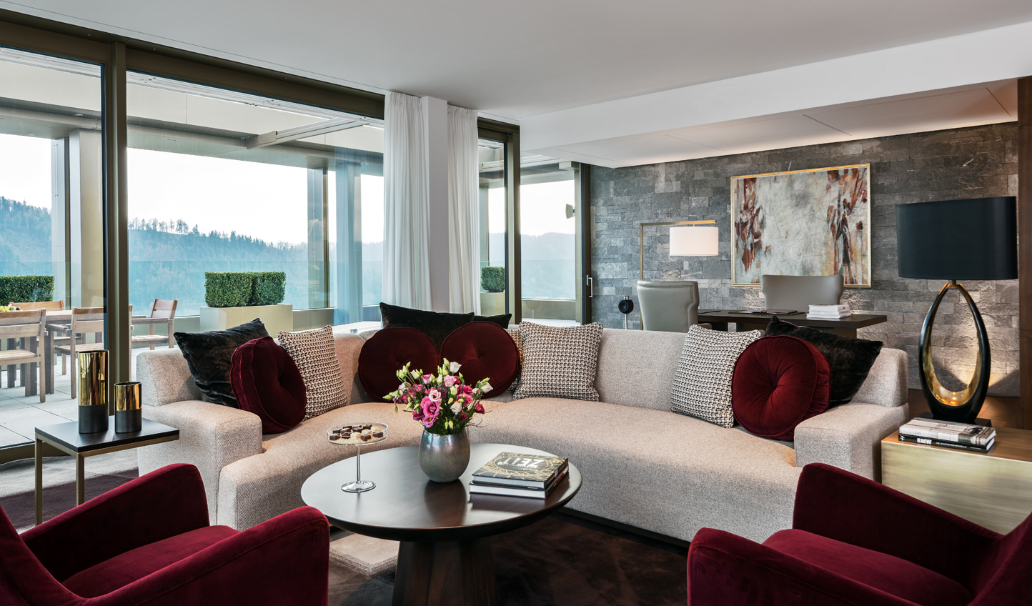The Bürgenstock Hotel creates a home from home