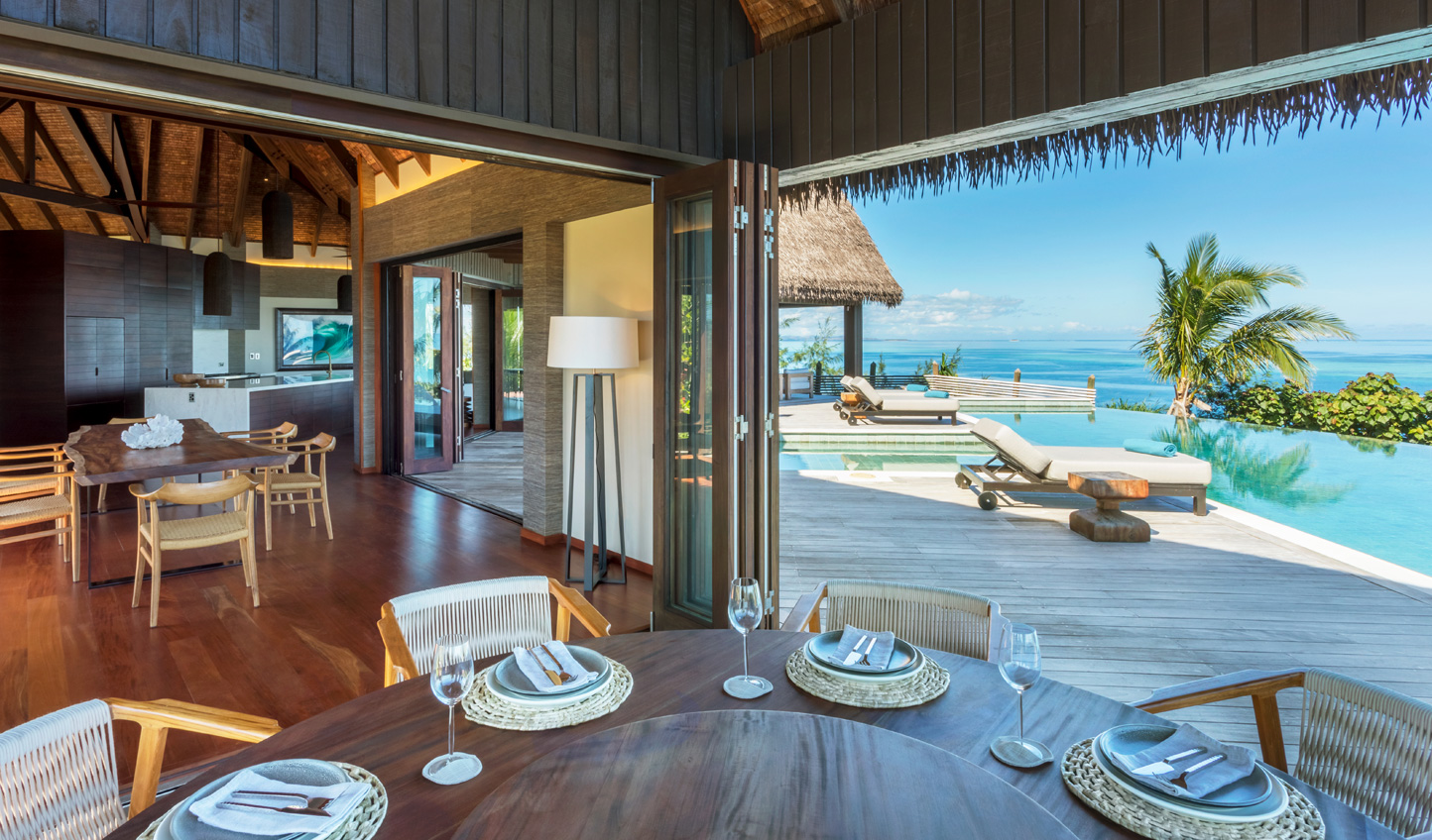 Take up residence at Six Senses Fiji and easily find reason not to leave