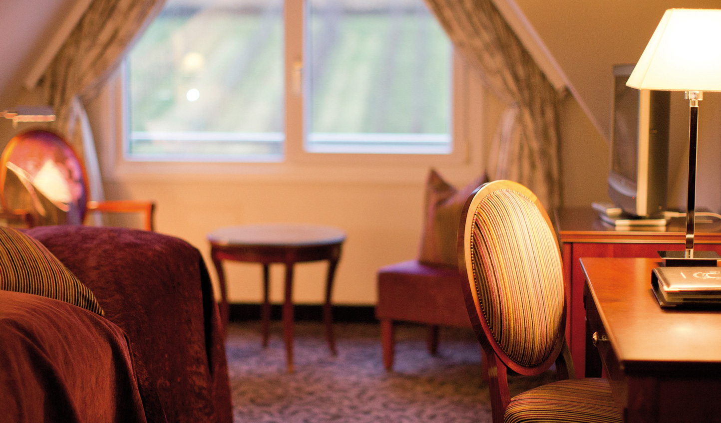 Cosy up in the luxurious rooms