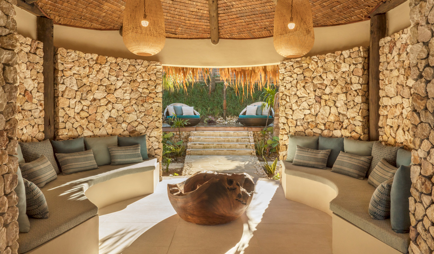 Escape the world at Six Senses Spa and gte back to nature