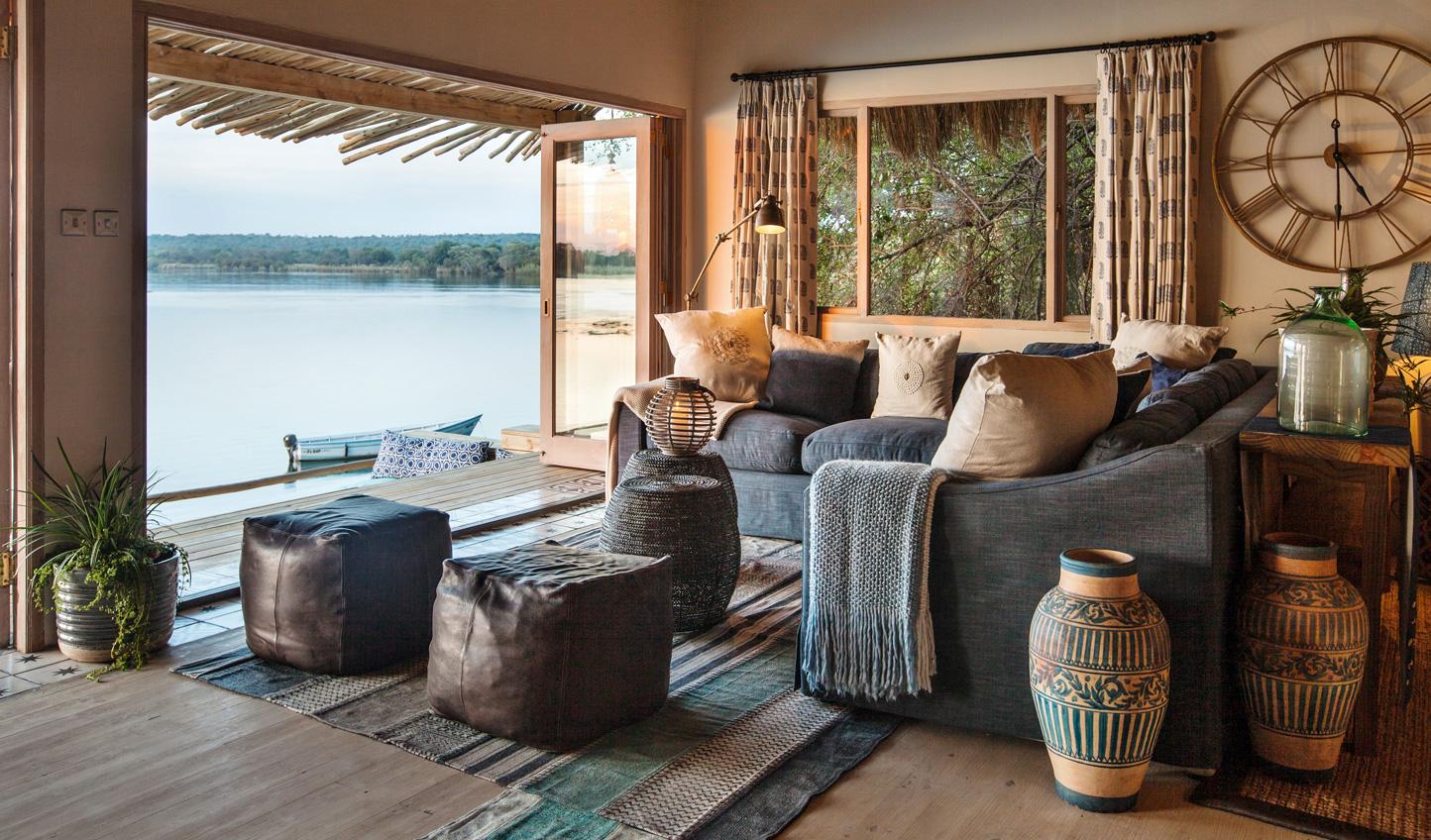 Hop across the border to the luxury of Tongabezi