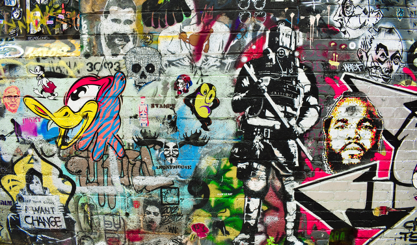 Embrace Melbourne's street art scene on a guided walking tour
