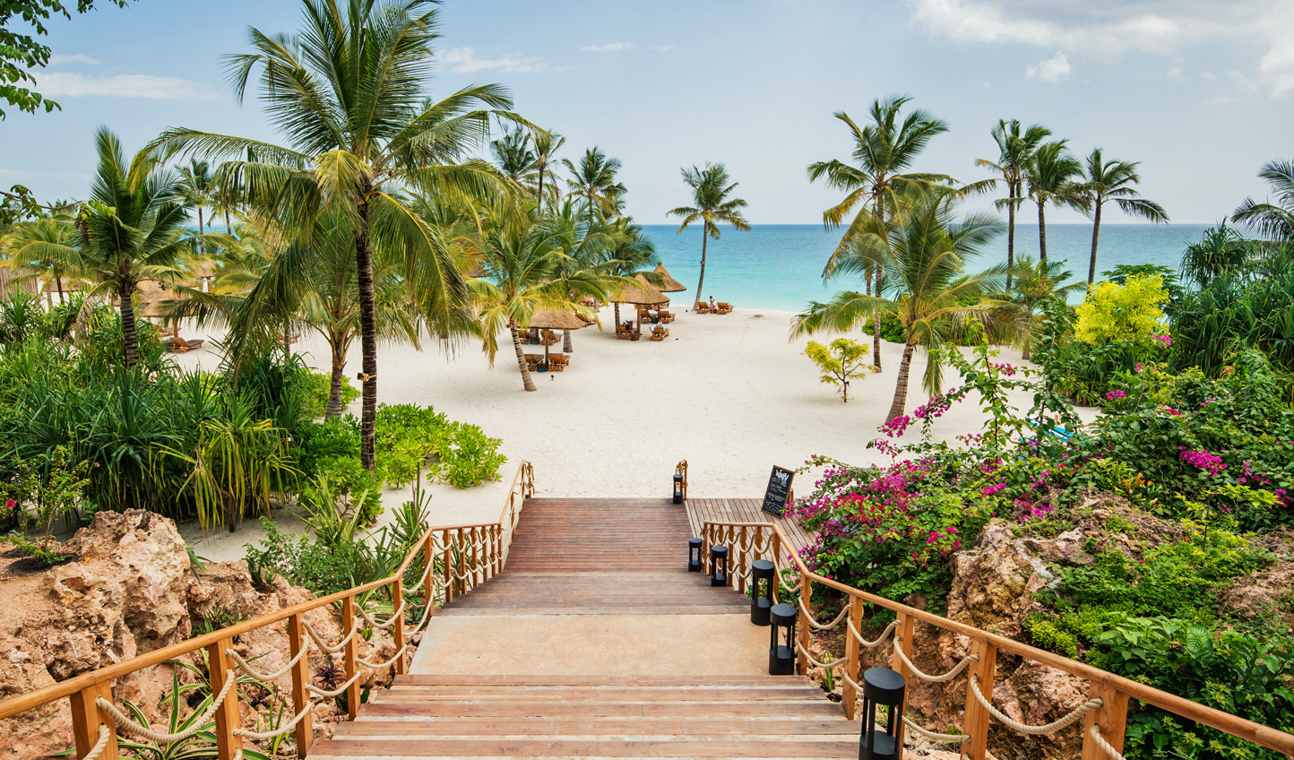 Step onto the silky soft sands of Zuri Zanzibar