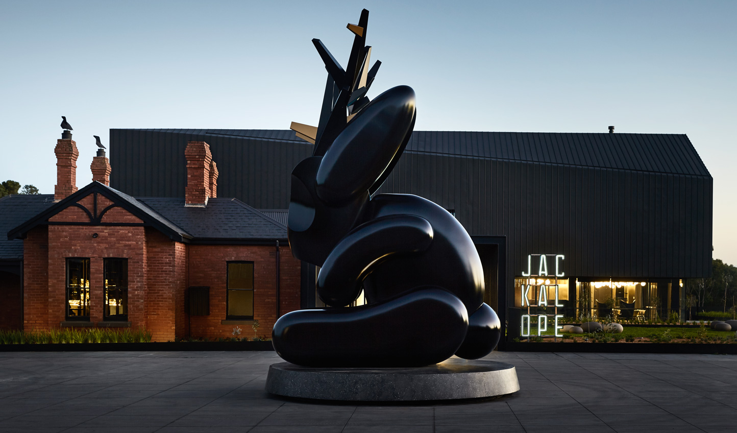 Check into the trend-setting Jackalope hotel on the Mornington Peninsula