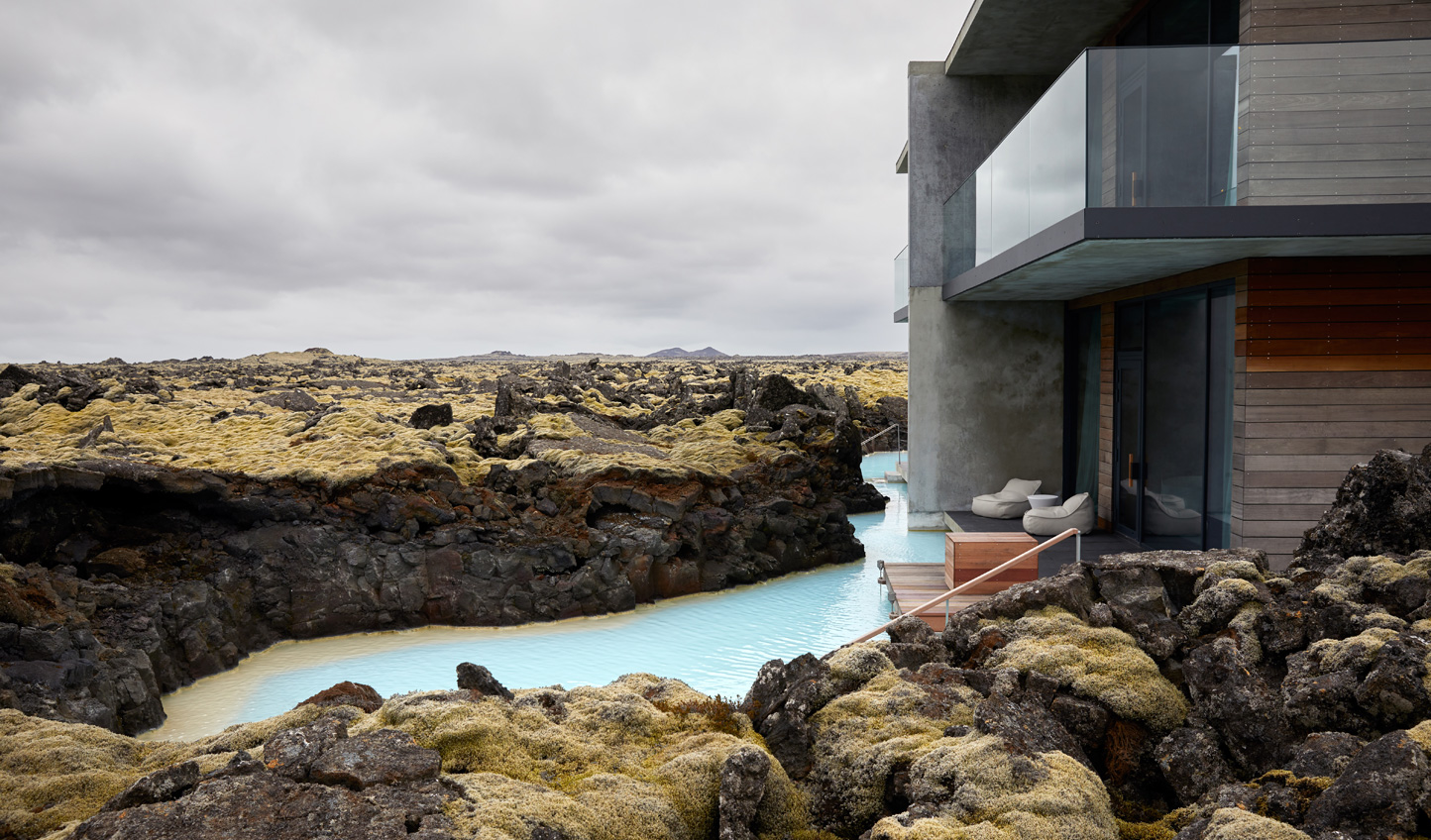 Wash off the jet lag with a dip in the Blue Lagoon - accessed directly from your suite