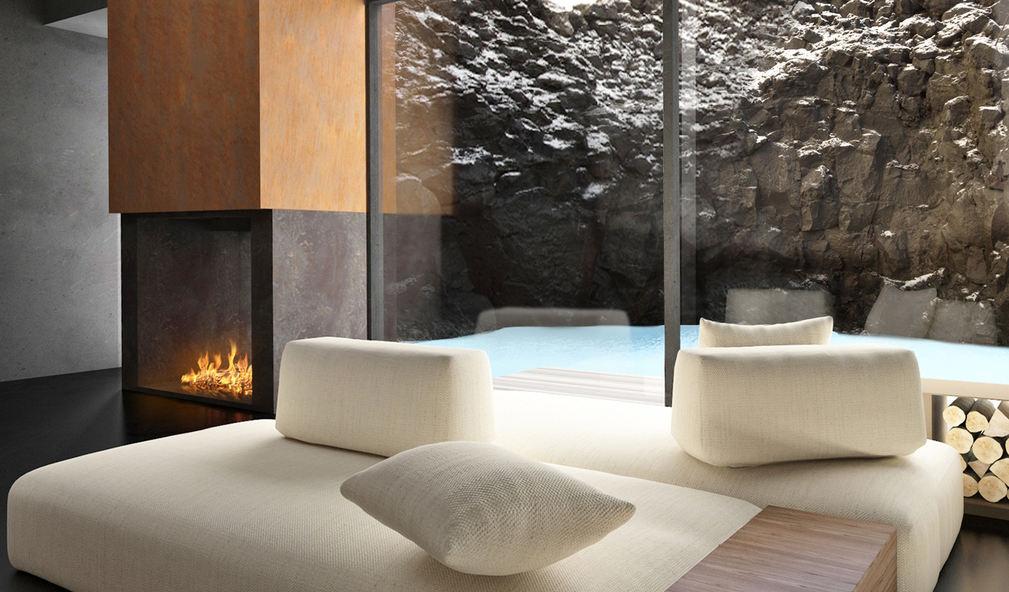 Hide away in the subterranean spa at the Retreat at Blue Lagoon