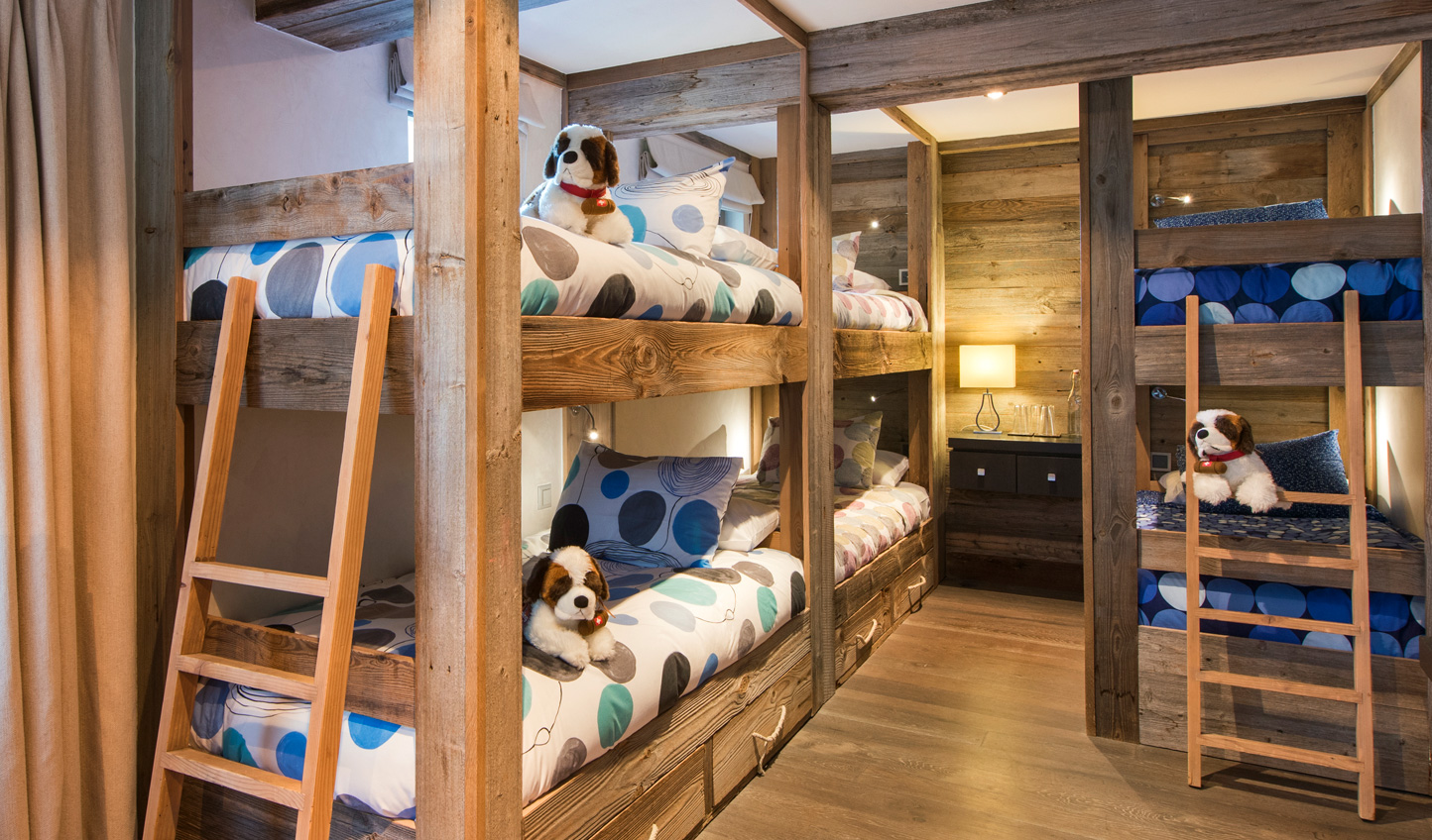 Children will love the Bunk Room with its beanbags and games consoles