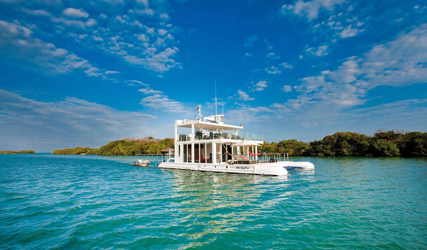 For something a little different, spend a night or two onboard Casa Navegante