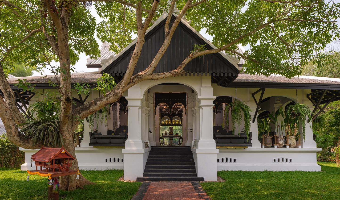 Ancient heritage has been given a modern update at Rosewood Luang Prabang