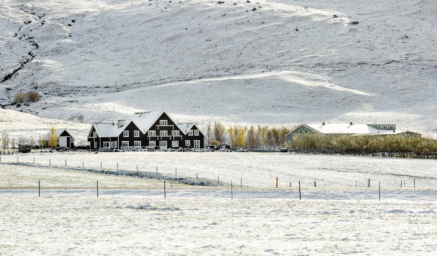 Your winter hideaway in South Iceland