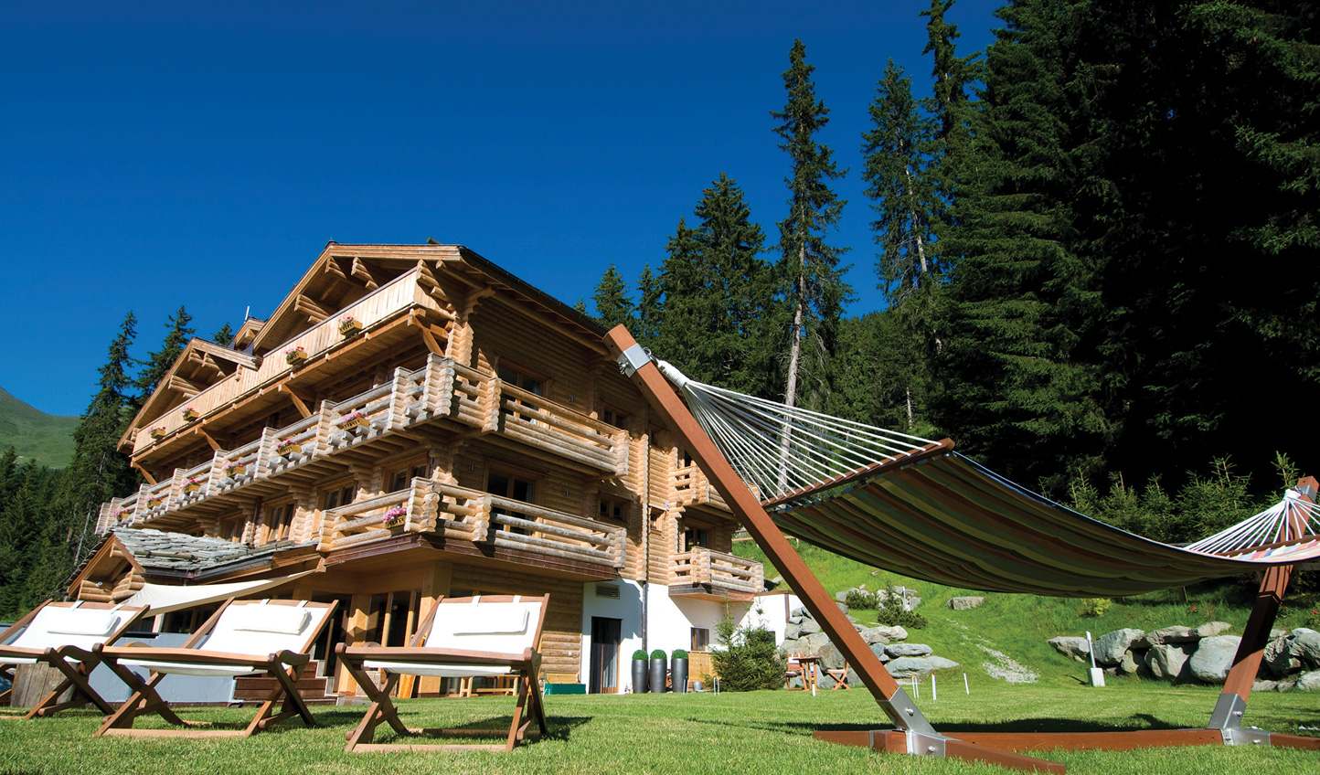 Spend a summer on the mountain at The Lodge, Verbier