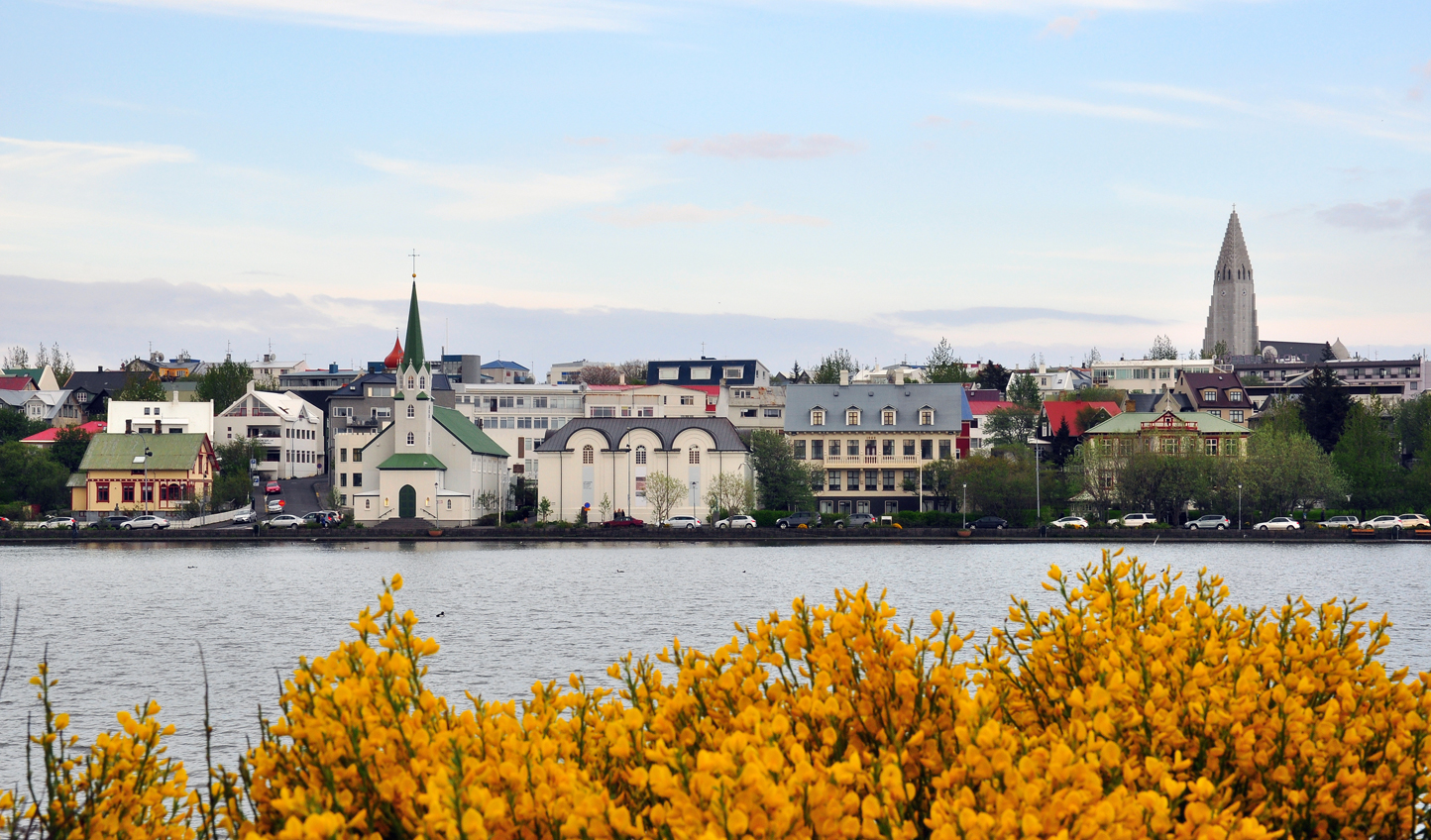 Explore the trendy streets of Reykjavik